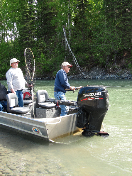 Outboard Jet Boats - Fishtale River Guides | 907-746-2199