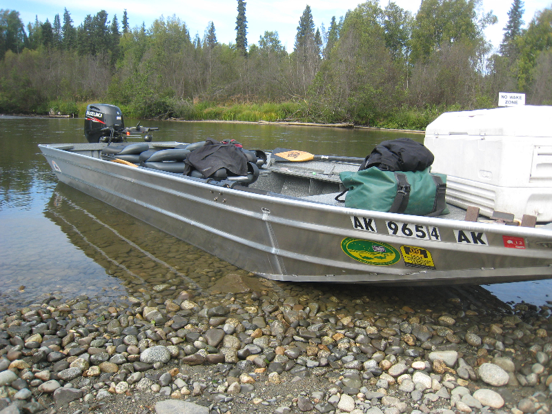 Outboard jet boats fishtale river guides 907 746 2199 for Best river fishing boat