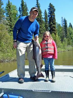 Family-Salmon-Fishing