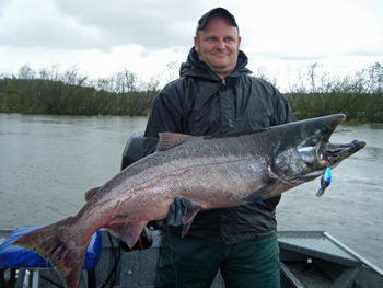 May 2014 alaska fishing reports alaska fishing guide for Salmon fishing anchorage